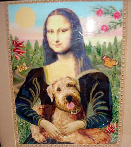 Airedale Mona Lisa