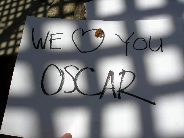 RIP Oscar